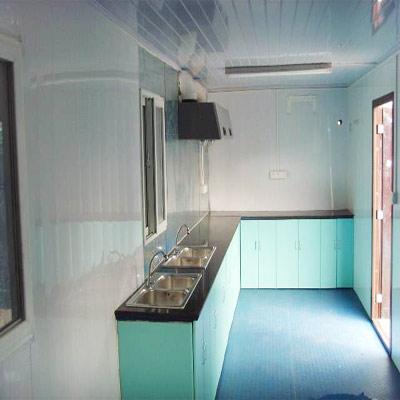 集装箱房-厨房成品展示